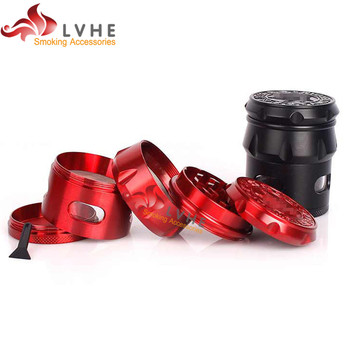 T077GZ LVHE Tolly Quality Chinese Products Zinc Custom Weed Grinder