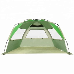 Cheap Beach Tent Automatic Pop Up Sun Shelter Lightweight Cabana Shade 2-3 Person UV Protection UPF50+ for Women Family Kids