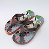 2018 Customized brand wholesale for kid's nude beach rubber flip flops shoes