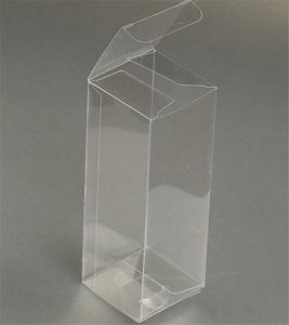 Wholesale comfortable design useful clear pvc gift box