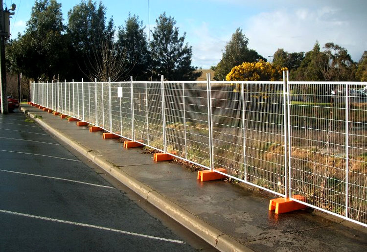 Temporary Security Fence Panels Outdoor Retractable