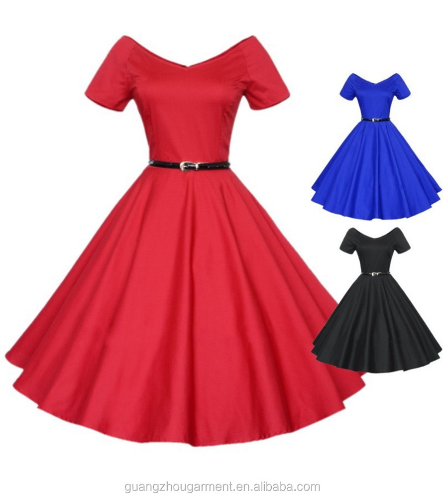 Plus Size 50s Retro Pinup Rockabilly Housewife Swing Dresses By China  Clothing Manufacturer - Buy Rockabilly Swing Dresses 50s,Rockabilly Dresses  Plus ...