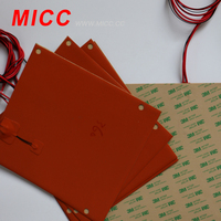 MICC aluminium plate & Silicone Rubber heater Heating Band Heater for dehumidifier
