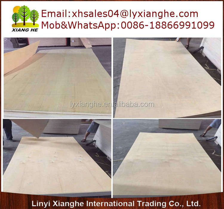 Plywood Hardwood,Red&Yeloow Hardwood Plywood Board