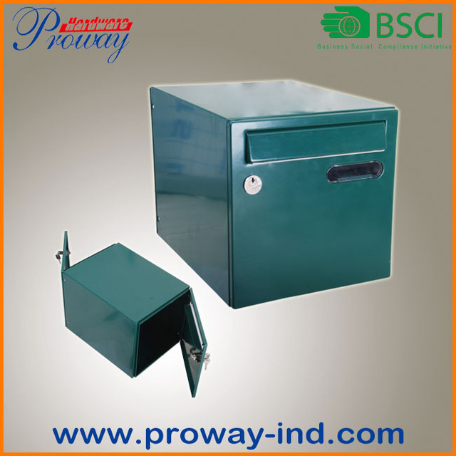 steel two door mailbox letter box & door letter box-Source quality door letter box from Global door ... pezcame.com