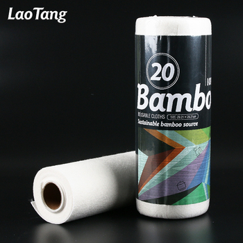 Eco-friendly bamboo jumbo roll reusable kitchen paper towel