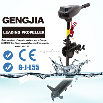 Gengjia dc 12v 55lbs high quality ce approved cheap boat for Cheap saltwater trolling motor