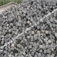 2016 NewGranite tumbled mesh driveway paving stone mesh back cobble stones