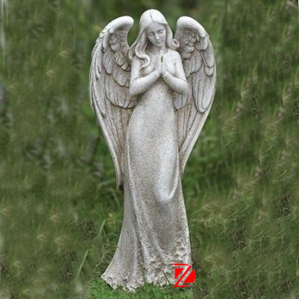 Life Size Granite Angel Statues