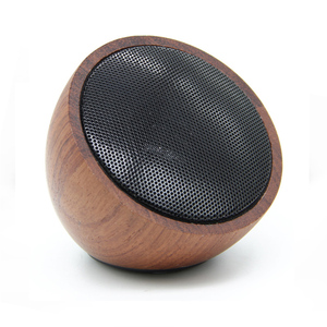 High Quality Hot Bamboo/ Wooden Portable BT professional mini Wireless Speaker