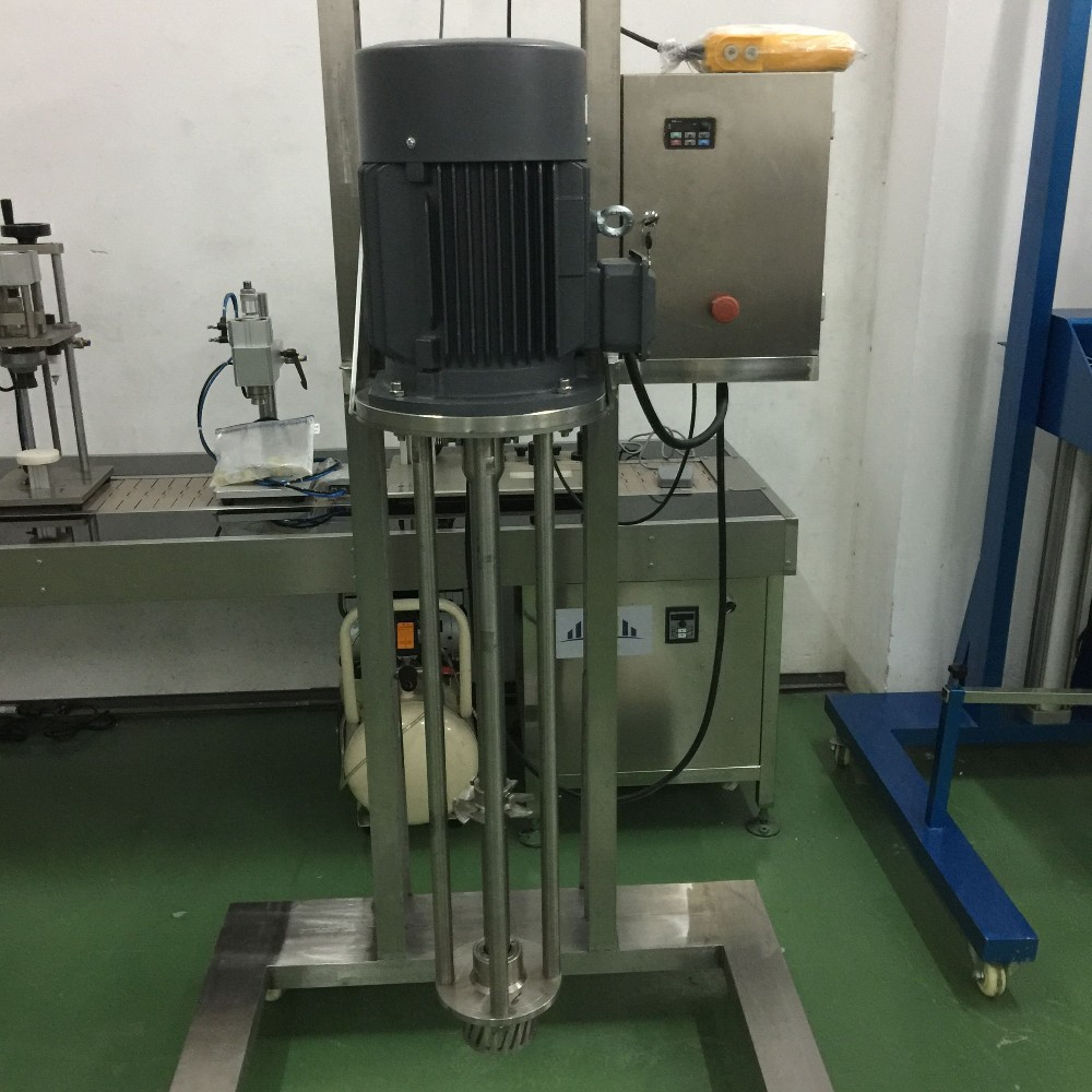 Lift Homogenizer mixer for tooth paste