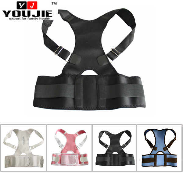 Back and shoulder posture corrector for orthopaedic brace support belt for back pain relief