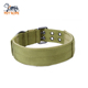 "Amazon's best-selling nylon dog collar outdoor pet supplies adjustable comfort necklace double jade buckle 1.5 ""dog collar"