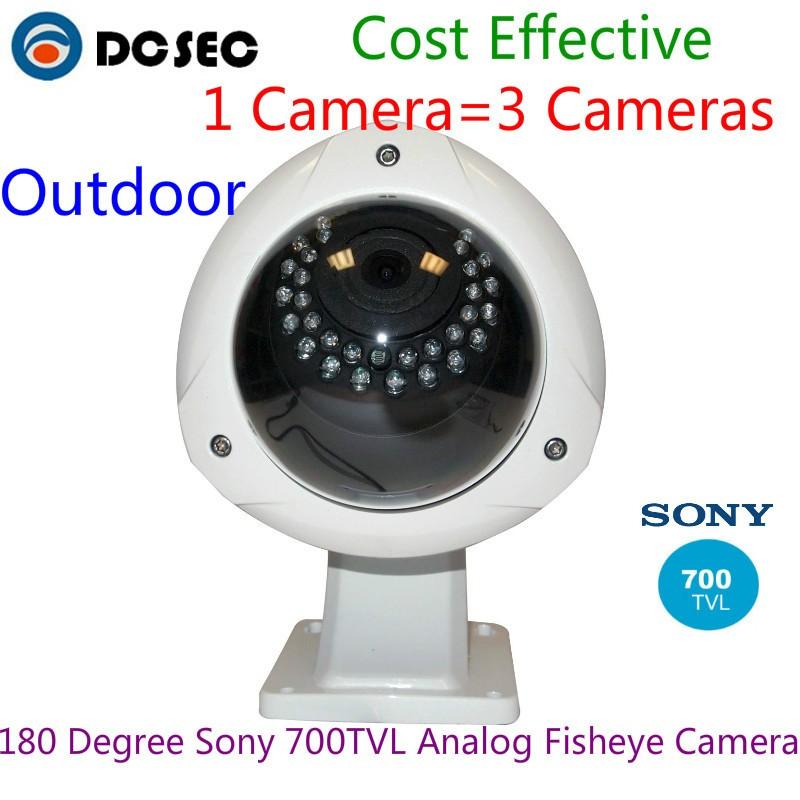 Sony 700tvl 180 Degree Analog Wide Angle Outdoor Water