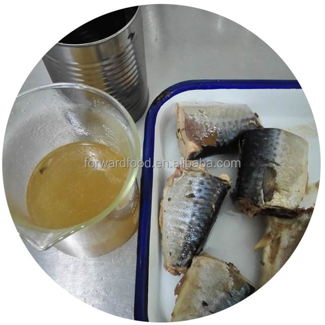 Supply Canned fish manufacturer 425g canned mackerel tin fish canned mackerel in natural oil
