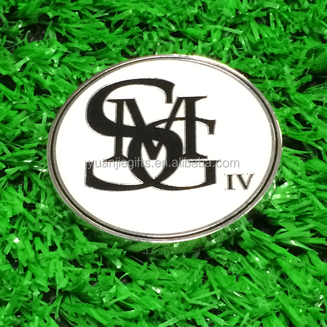 Factory Custom Cheap Golf Items, Magnetic Metal Golf Ball Marker