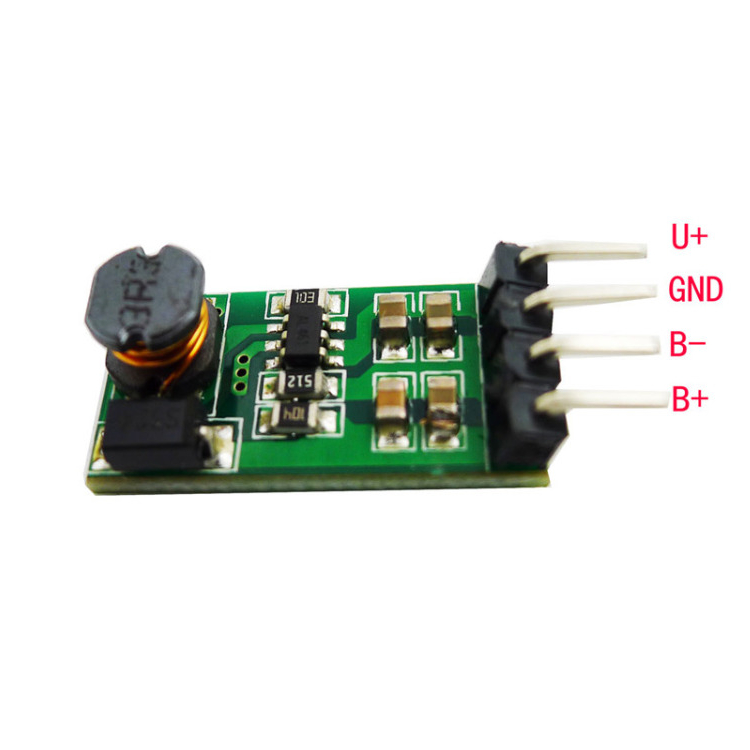 Geree DC-DC Step up converter 3.3V 3.7V 5V 6V to 12V 1A Boost Voltage Regulator