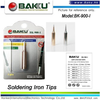 Best lead free soldering iron tips for soldering station (BK-900-1 soldering tips)