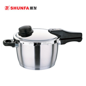 Multi-functional stainless steel pressure-adjusting pressure cooker