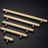 High Quality T Bar Cabinet Handles and Knobs Simple Design Drawer Pulls