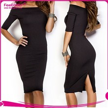 Fast delivery 2015 spring summer womens fashion dress