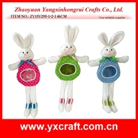 Easter decoration (ZY15Y295-1-2-3 46CM) easter gift easter home decoration candy bunny bag