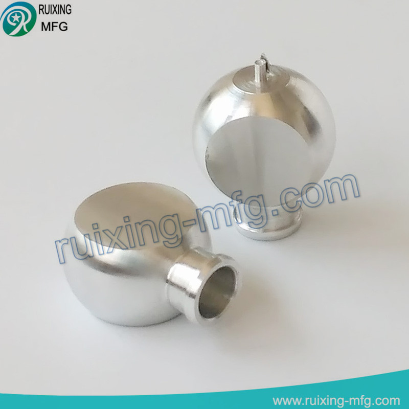 cnc aluminum machining metal earphone from cnc lathe parts