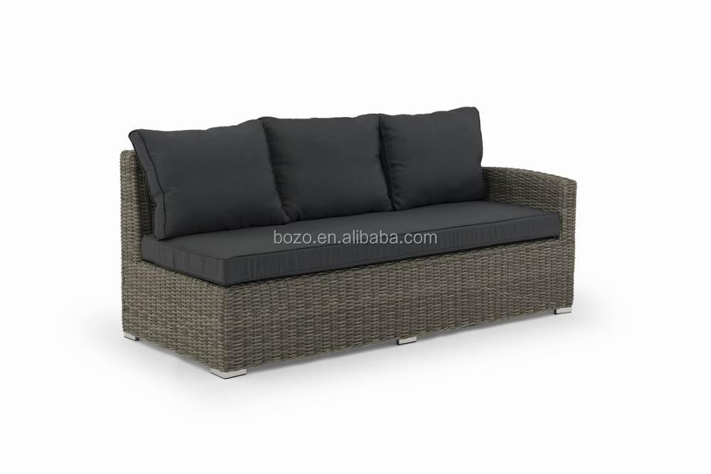 Garden Line Furniture Wicker Sectional Corner Outdoor Sofa Rattan