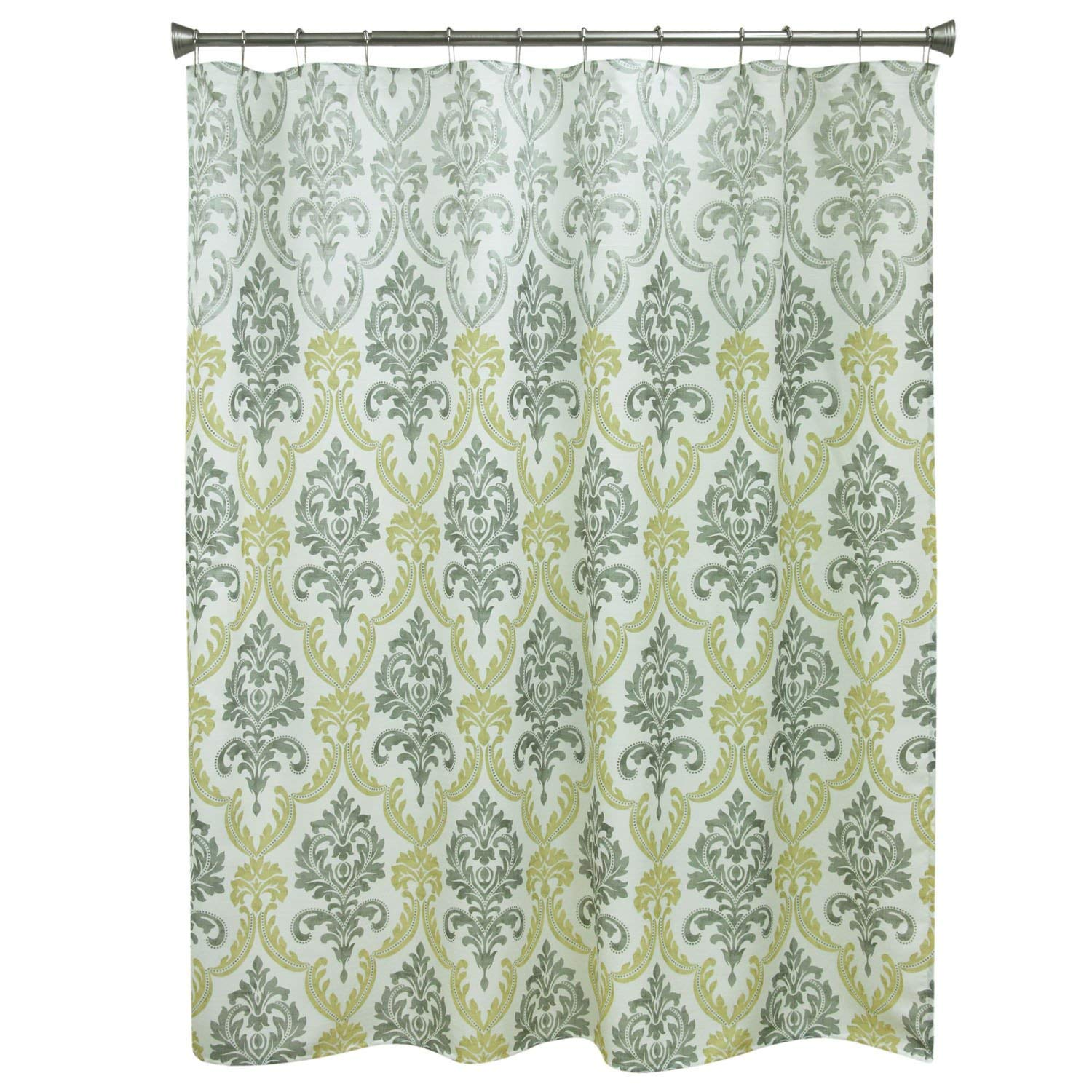 Get Quotations Bacova Guild 10784 Portico Yellow Damask Shower Curtain