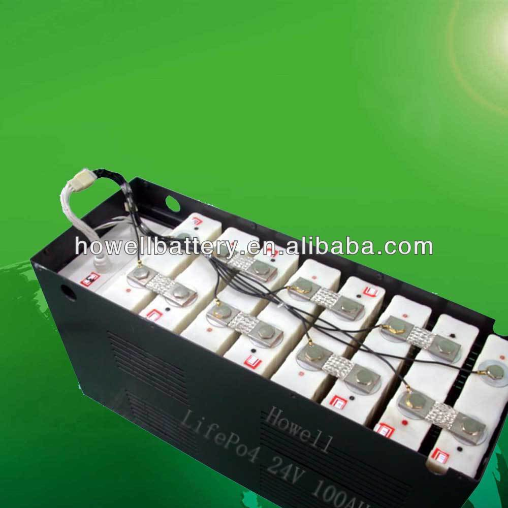 lithium battery pack 24v 600ah for home solar system power