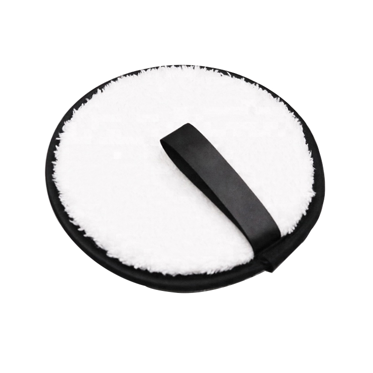 Private Label Ronde Make-Up Remover Handdoek Magic Microfiber Make-Up Remover Pad