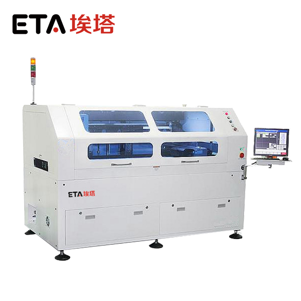 Full auto stencil printer 1200 Led Making Screen Printing Machine for SMD/SMT Line