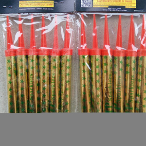 Customized party supply birthday candle sparklers
