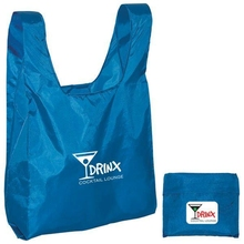 Custom Supermarket Eco Reusable Folding Shopping bag, Promotional Cheap Logo Printed Recycle Nylon Beach Tote Bag