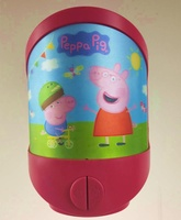 Hot sale kids gift Peppa lenticular printing night light-with 20minutes timer