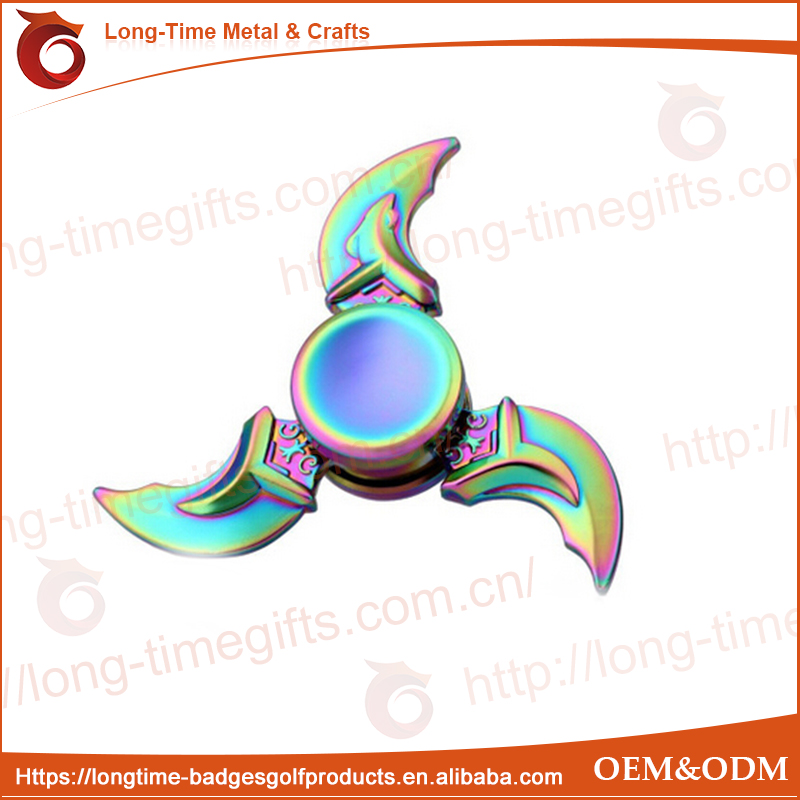 Fiddle Toy Windmill Finger Gyro Fidget Spinner - Blue