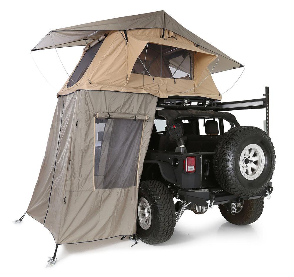 Dinlenmek için çadır römork