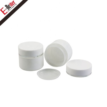 Custom made cream jar for skin care small plastic makeup containers