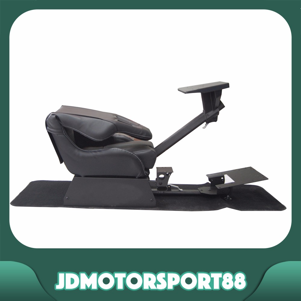 JDMotorsport88 Black Adjustable Racing Simulador For Logitech G27
