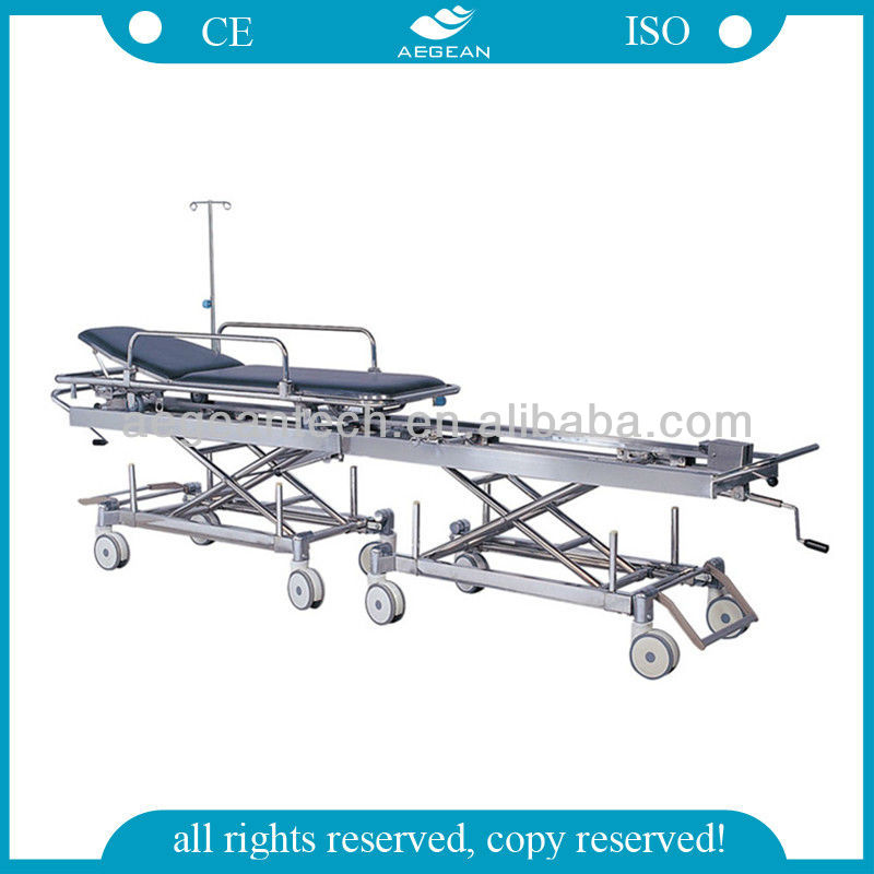 AG-HS011 Patient transport for operation room durable stretcher back machine