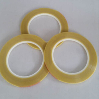 Yellow double sided silicone glass cloth tape for SMT