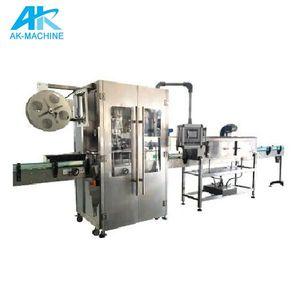 Automatic Shrink Sleeve Labeling Machine/Plastic Water Bottle Sleeve Labeling Equipment/High Speed Sleeve Labeling Plant Prices