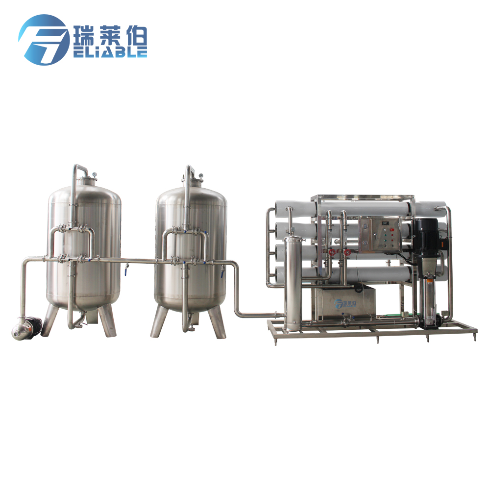 Industrial Chemicals RO Automatic Water Filter Equipment For Water Treatment and Bottling Plants