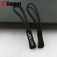 Top quality beautiful 2015 golf wear PVC plastic zipper pullers