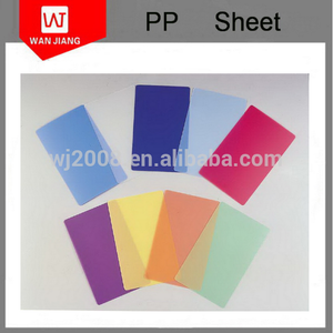 Factory direct and high Quality corrugated polypropylene pp sheet