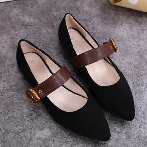 Wholesale cheap casual sheos all-match new design women flat shoes
