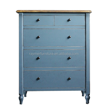 Vintage Commode Antique Reproduction Chest Of Drawers French Style