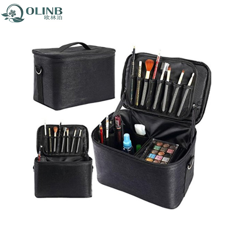 L Size Make Up Case Box Cosmetic Organizer For Ladies