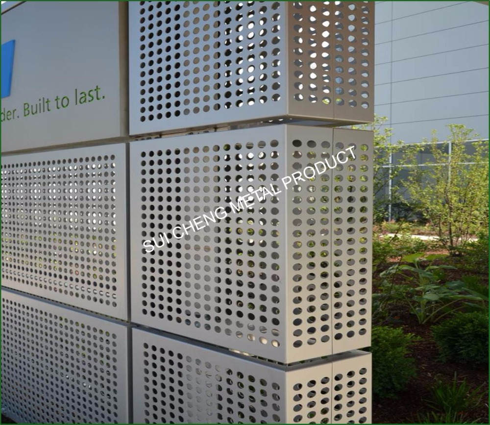 Guangzhou Factory Stainless Steel Round Hole Perforated