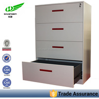 modern large capacity Australia Lateral Tall Thin Storage Cabinet for files